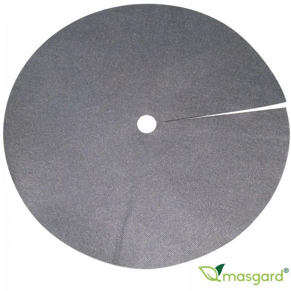 5x Baumschutzvlies Rundscheibe - 30 cm - 80 g/m² - schwarz